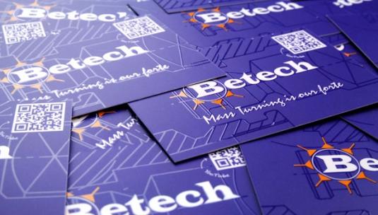 Betech-luxe-visitekaartjes-uv-spotlak