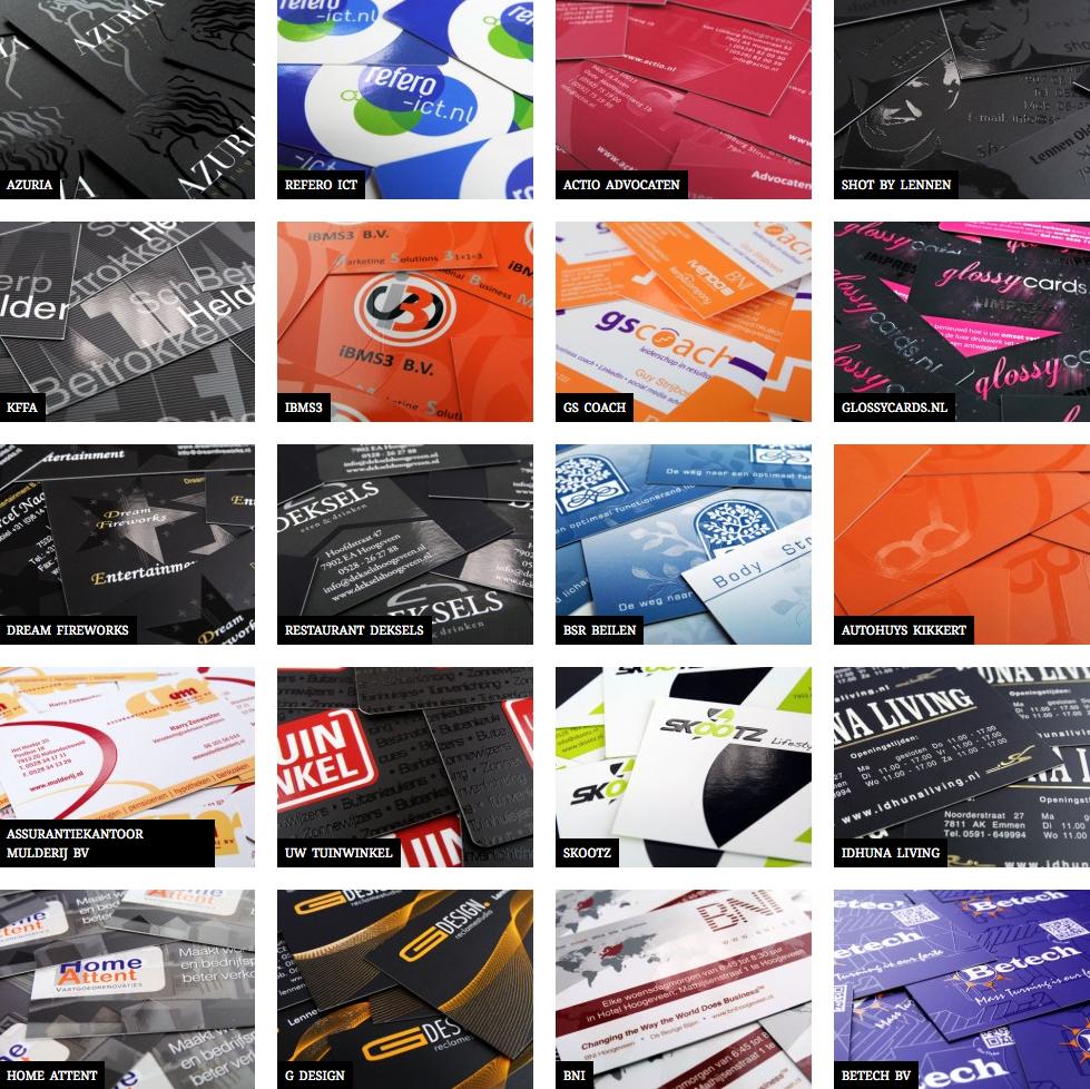 visitekaartje ontwerpen