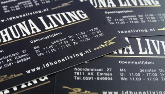 luxe-visitekaartjes-uv-spotlak-goud-folie
